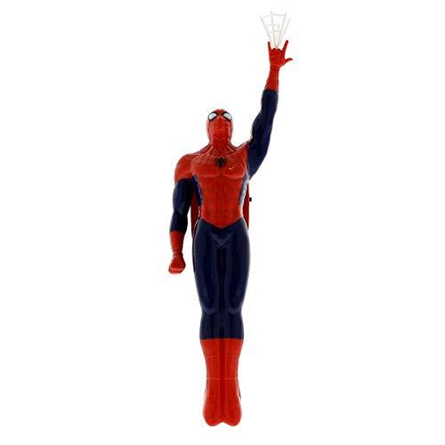 Sambro- Spiderman Muñeco Articulable, Color Rojo (SPE-3211)