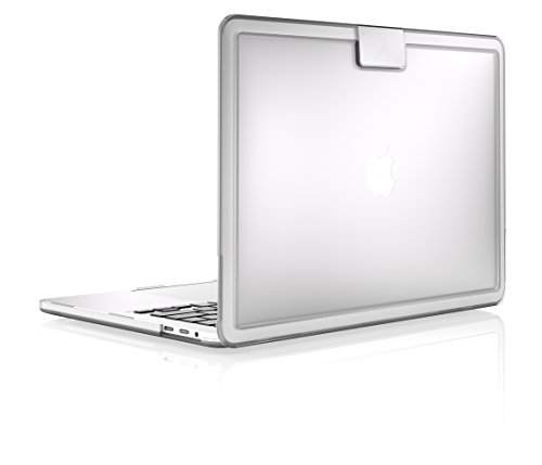 STM Hynt 15-Inch Slim Sturdy Sophisticated Case for MacBook Pro (2016 & 2017) - Clear (stm-122-154P-33)