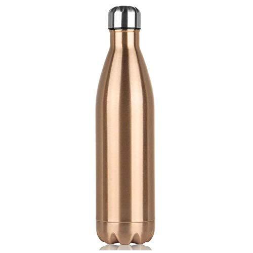NYCrosser Thermosfles, zonder BPA-vrij, BPA-vrij, voor sport, yoga, outdoor, kantoor, kinderen, school