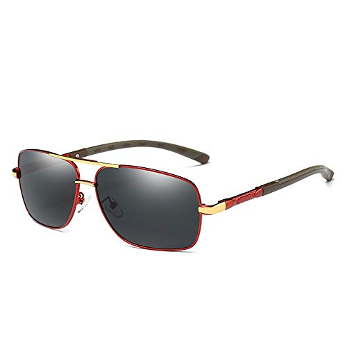 Gafas de sol para hombre Gafas Gafas de sol de moda Hombres y mujeres Modelos de explosión Gafas de sol metálicas LTJHJD