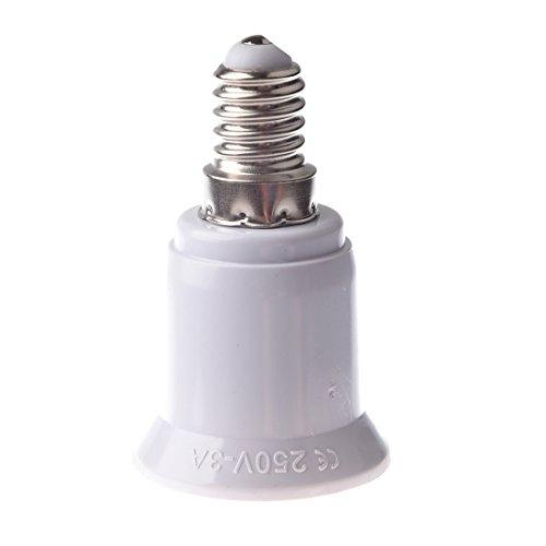 TOOGOO (R) Adattatori Bussola E27–E14Lampadina Lampada LED, illuminazione, convertitore