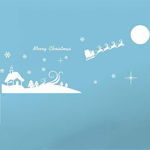Fósforo Navidad pegatinas creativas Alce de Navidad