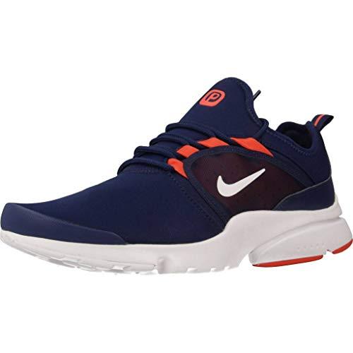 Nike Presto Fly WRLD, Zapatillas de Atletismo para Hombre, Multicolor (Blue Void/White/Team Orange 401), 40 EU