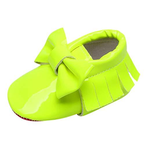 HDUFGJ Babyschuhe Freizeitschuhe Taufschuhe Kinderschuhe Lauflernschuhe Prinzessin Schuhe20 EU(Grün)
