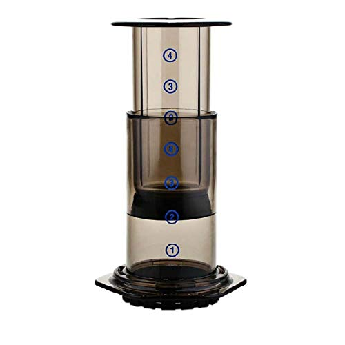 Druk Koffie Portable Koffiezetapparaat Air Press espressomachine 350pcs Filter Papers (Color : Black, Size : 13cm)