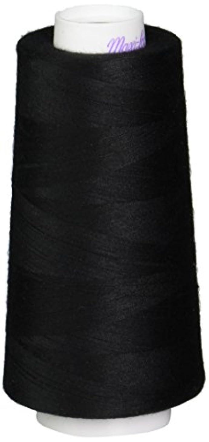 American & Efird Maxi-Lock Cone Thread, 3000-Yard, Black