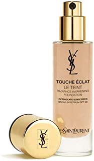 Yves Saint Laurent Touch Eclat Le Teint Br 60 Cool Amber Foundation, 30 ml - Pack of 1