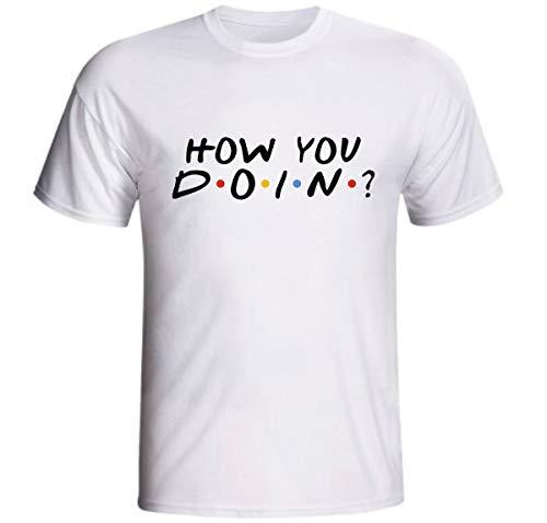 Camiseta How You Doin Friends Frases Joey Série Netflix