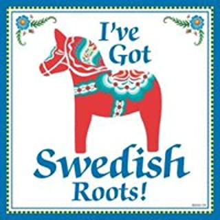 Essence of Europe Gifts E.H.G Kitchen Wall Plaques: Swedish Roots.