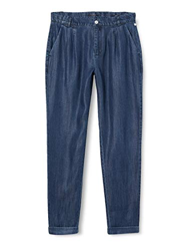 Scotch & Soda R´Belle Girls AMS Blauw Drapey Tencel Chino Hose, Indigo 0089, 14