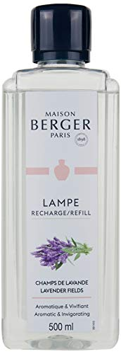 Lampe Berger Riserva di Profumo Campi di Lavanda, Liquido, Argento, 500 ml