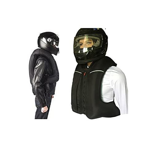 Chaleco De Moto Con Airbag Cinta Reflectante En La Parte Delantera Y Trasera. 6 Estilos Para Elegir Se Utiliza Para Montar En Motocicleta, Resistencia A Caídas Ecuestres. (Sin Cilindro De Gas CO2) Equ