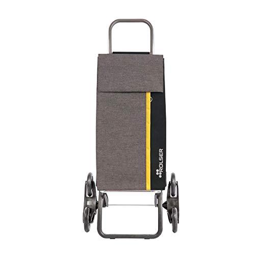 Rolser Logic RD 6 Kangaroo Tweed Treppensteiger Einkaufstrolley Grau
