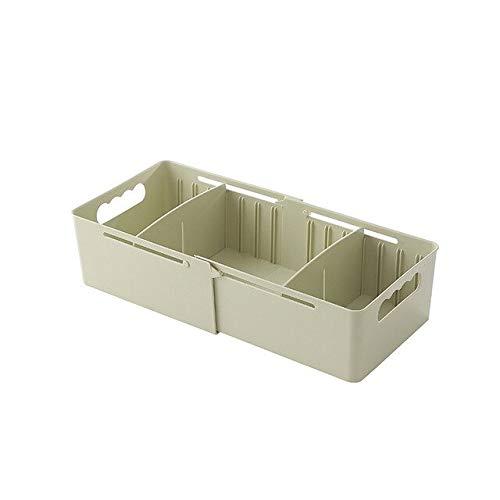 Tzaao - Storage Boxes Bins - Adjustable Movable Underwear Organizer Bathroom Sundries Office Organizers Drawer Style Storage Box - Boxes Storage Bins Storage Boxes Bins Organ Room Kitchen Divider C