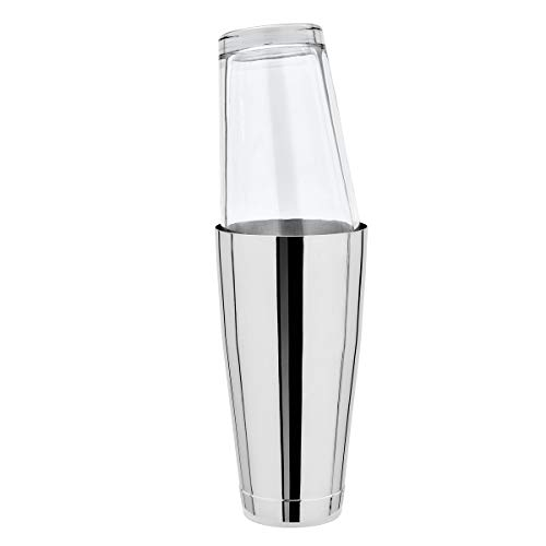 Boston Shaker komplett mit Original Mixing Glas -Edelstahl - 28oz.=828 ml.