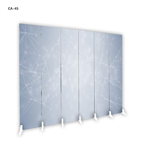 Find Discount Room Screen Even Free Standing, 6 Panel Partition Tall Panel Divider Great for Privacy...