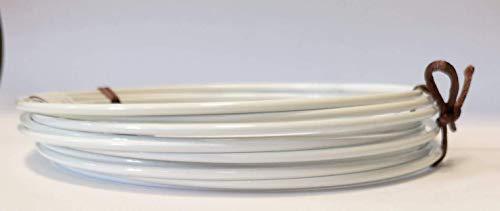 Drahtring Efco Lot de 10 Anneaux métalliques pour Enrouler ou Attrape-rêves Blanc 12 cm