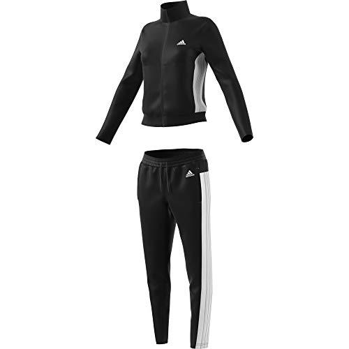 adidas Damen W TS Teamsports Tracksuit, Black/Black, M
