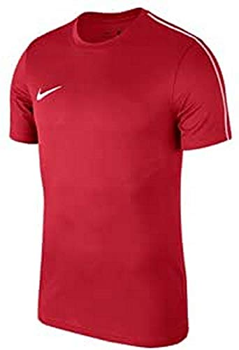 Nike Mens Park 18 Soccer Jersey Short Sleeve Red Size M