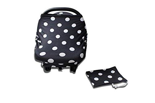 Product Image of the Sprout'n Smiles Nursing Breastfeeding Baby Carseat Cover - Shopping Cart and...
