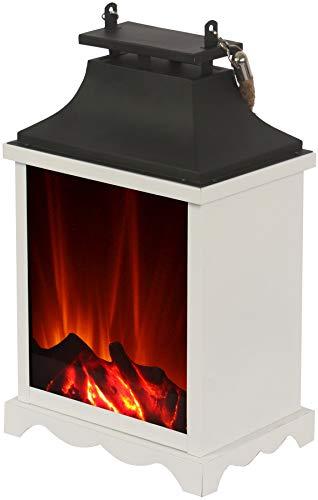 El Fuego AY 548 Lantaarn, tafellamp met led-vlameffect