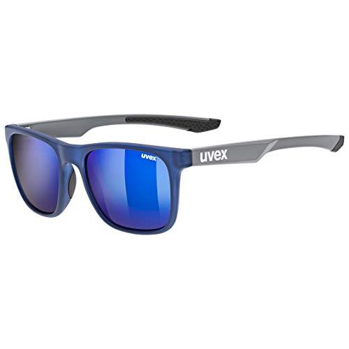 uvex Unisex– Erwachsene, lgl 42 Sonnenbrille, blue grey, one size