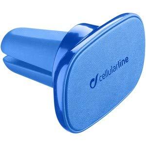 cellularline 8018080348853 Handy/Smartphone Blau Passive Halterung - Halterungen (Handy/Smartphone, Passive Halterung, Auto, Blau)