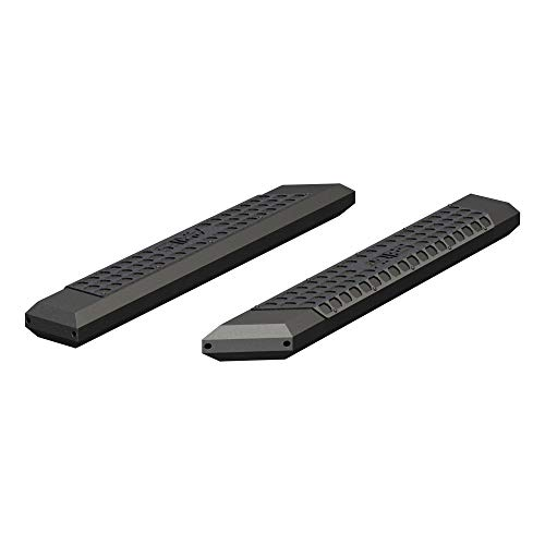 ARIES 2055953 AdvantEDGE Black Aluminum 53-Inch Truck Running Boards, Brackets Sold Separately