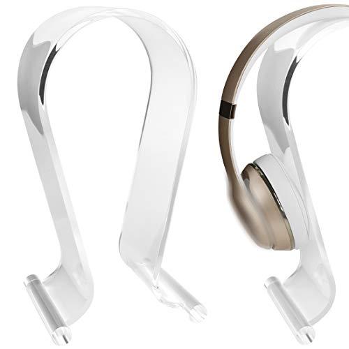 Geekria Soporte de auriculares acrílico para escritorio, solo3/solo Pro Percha para auriculares,...