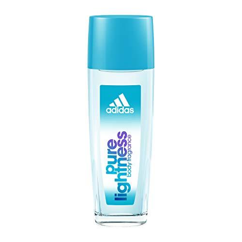 adidas Pure Lightness Natural Spray – Deo & Bodyspray für Damen mit fruchtig-floralem Duft – Verleiht eine vitale, feminine Aura – 1 x 75 ml