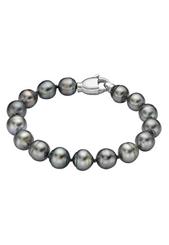CHRIST Pearls Damen-Armband 925er Silber Tahiti One Size 87523373