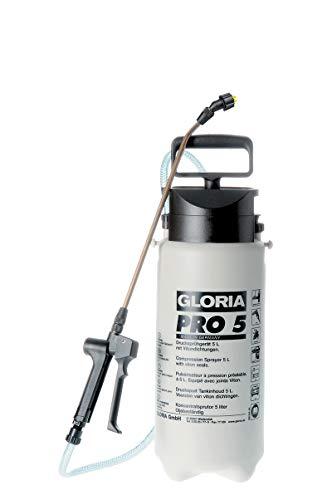 GLORIA Drucksprüher Pro 5, Spezial-Drucksprühgerät, 5L, Ölfest