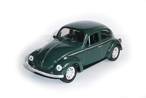 Anik-Shop Volkswagen Beetle Käfer VW Modellauto 4 Varianten Modell Auto Spielzeugauto 26(Grün)
