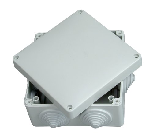Kopp 351004009 Feuchtraum-Abzweigkasten IP65, 140x140x79mm, weiß, FK311