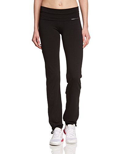 ONLY PLAY Damen Laufhose Fold Jazz Pants Regular Fit, Schwarz, 42/XL, 15062199