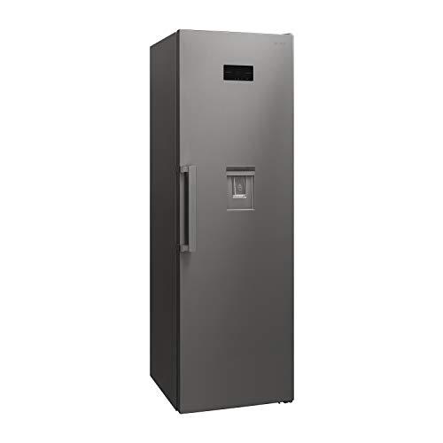 Sharp SJ-LC41CHDIE-EU Frigorifero, 186 cm di altezza, 390 l, controllo elettronico, distributore d'acqua, ZeroDegreeZone, AdaptiFresh, acciaio inox