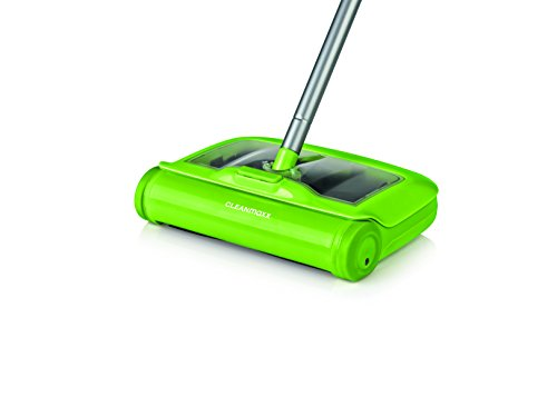 TV Unser Original cleanmaxx Bodenkehrer mit Reinigungstuch 2-in-1, limegreen, 1 Stück