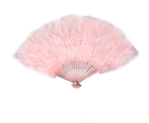 small feather fans - 2