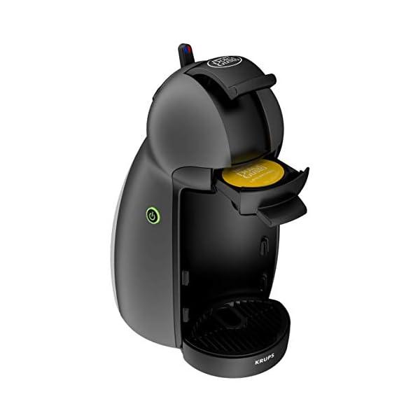 Krups Piccolo XS Cafetera cápsulas Nestlé Dolce Gusto de 15 bares de presión y 1500 W potencia con depósito de 0,8 L…