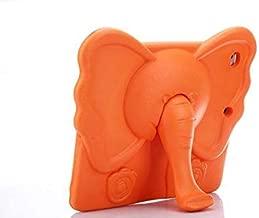 For iPad 6/Air 2 Elephant Trunk Orange Color Cute Kids Shock Proof Foam EVA Stand Case Cover