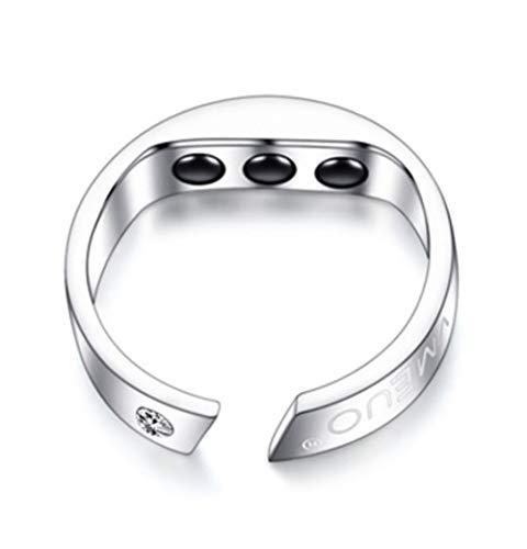 WSHA Schlafhilfe, Anti-Schnarchen Ring Magnetische Therapie Akupressur-Behandlung Eleganten Magnetischen Ring Für Schnarchen Gerät Snore Stopper Finger Ring,XL