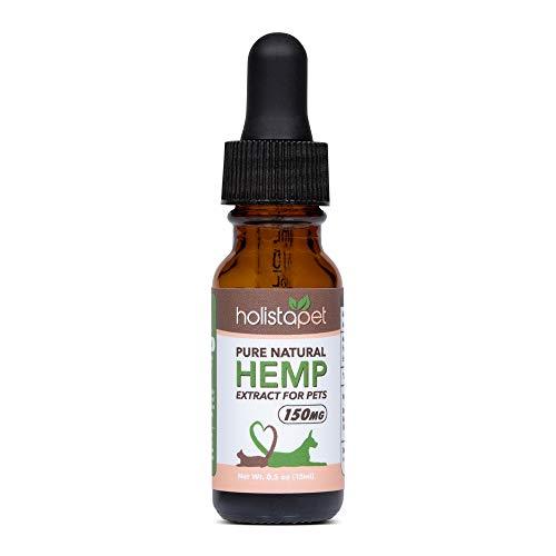 HolistaPet Hemp Oil for Dogs & Cats