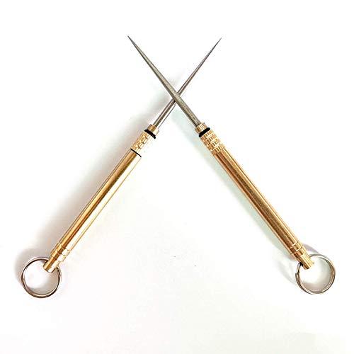 Palillos de dientes portátiles de titanio Palillos de dientes reutilizables Caja de metal para palillos de dientes Adecuado para viajes al aire libre Picnic Senderismo Camping
