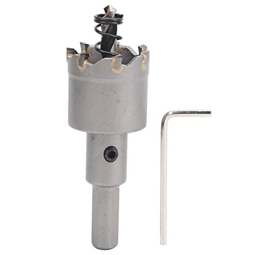 Broca para sierra de carburo, cortador de agujeros TCT, carburo cementado para accesorios electrónicos Piezas industriales Piezas eléctricas Suministros industriales(φ40mm)