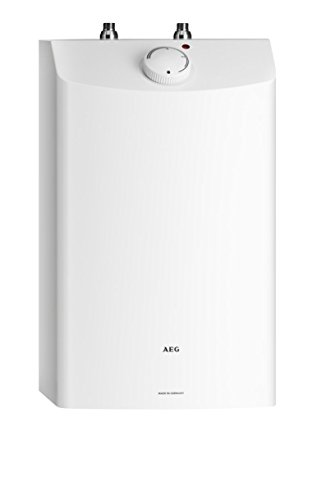 AEG 229481 DKu 10 - Piccolo scaldabagno, 10 litri, 2 kW 230 V, colore: Bianco