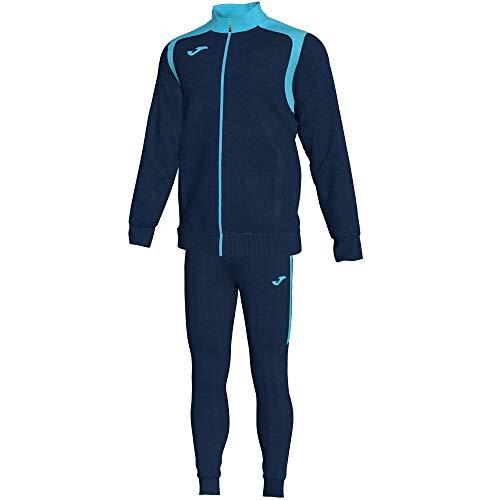 Joma Overall Champion V 101267 Navy-Turchese Fluo Fashion Tute, 101267_342_XS, Navy-Turchese Fluo, X-Small