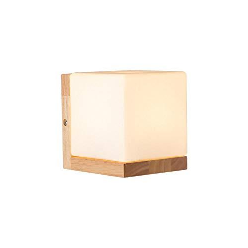 MJSM bedlampje voor de slaapkamer, minimalistisch, moderne ladder, verlichting van de kamer van hout in Japanse stijl