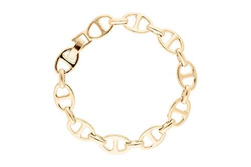 Lizas - Bracciale in oro con maglie da 19 cm + 7 cm e Ottone, cod. 1000591