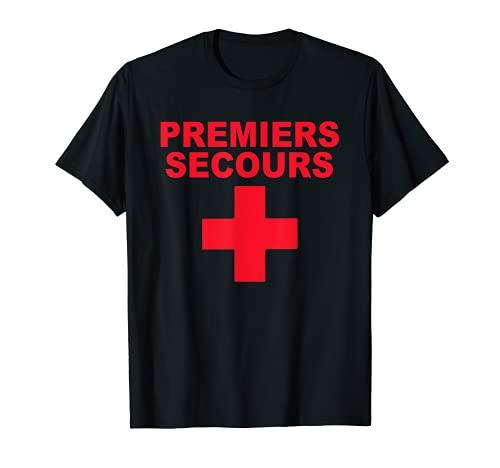 Premiers Secours Uniforme Médical Urgence Secourisme T-Shirt