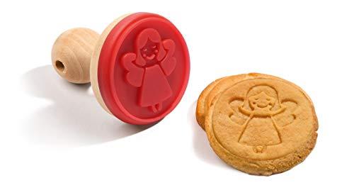 Tampon à biscuits en forme d'ange pour décoration de gâteaux